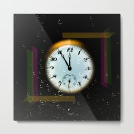 Time passes like soap bubbles Metal Print