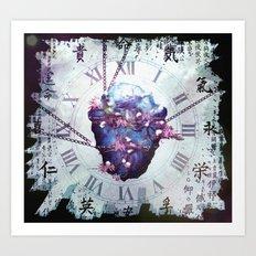 When Time Fades Away Art Print