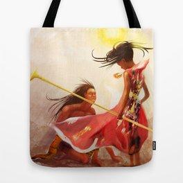 Sun priestess Tote Bag
