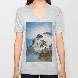 Glacial Peaks Unisex V-Neck
