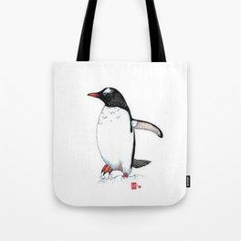 Gentoo penguin study I Tote Bag