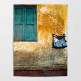 Asian Laundry Day Poster
