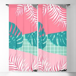 Palm Springs #society6 #decor #buyart Blackout Curtain