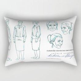 Darshanna Penna Character Design I Rectangular Pillow