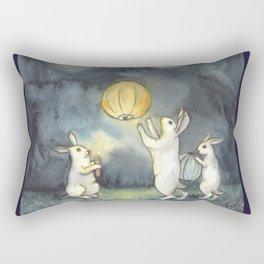 Sky Lanterns Rectangular Pillow