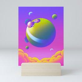 King Kai's Planet Mini Art Print