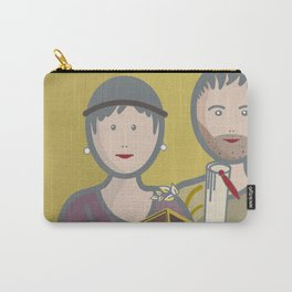 Couple from Pompeii Carry-All Pouch