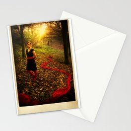 Lizzie Nunnery in the Garden Stationery Cards
