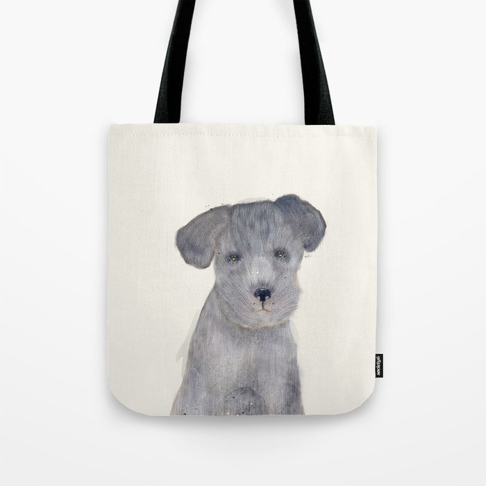 little schnauzer Tote Bag