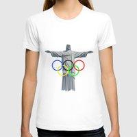 rio T-shirts featuring RIO OLYMPICS by burga