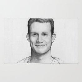 Daniel Tosh Portrait Rug