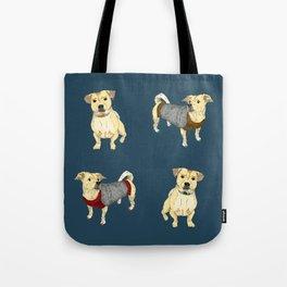 Bruce the Pug Chihuahua Tote Bag