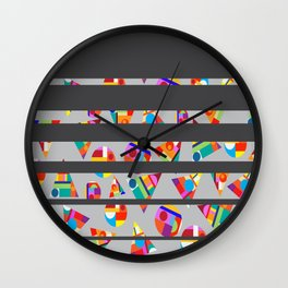 Lead Wall Clock