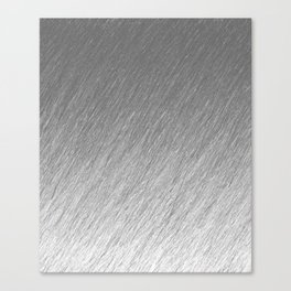 Funky Pastel Gray Canvas Print