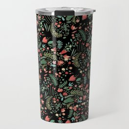 Floral Patern Travel Mug