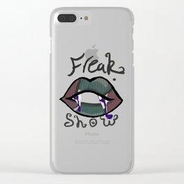 Freak show Clear iPhone Case