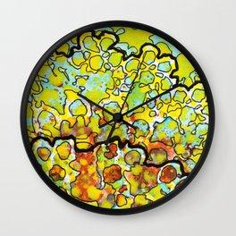 6, Inset A Wall Clock