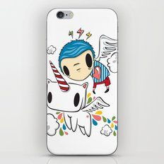 Polypop The Unicorn iPhone & iPod Skin