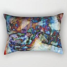 Heady: Return Your Face Rectangular Pillow