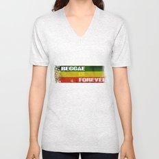 Reggae Is Forever II Unisex V-Neck