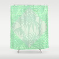 plant Shower Curtains featuring Plant by Mr & Mrs Quirynen