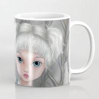 aquarius Mugs featuring Aquarius by Paula Ellenberger