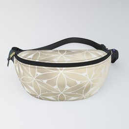 The Flower of Life Moon 2 Fanny Pack