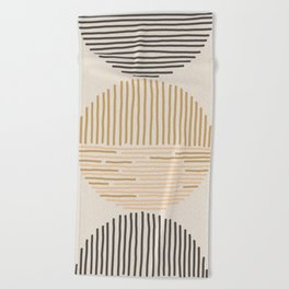 one last swim Beach Towel