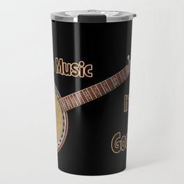 Banjo Music Travel Mug