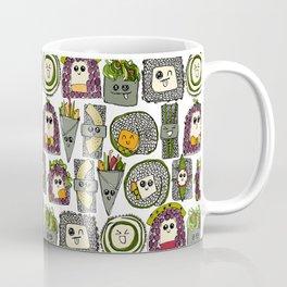 veggie sushi white Coffee Mug