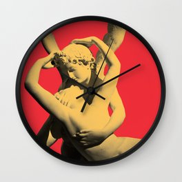 LOVE AND MIND Wall Clock