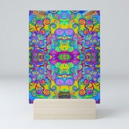Klimt Tree of Life Mandala Mini Art Print