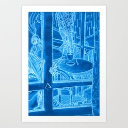 Paris 1 Art Print
