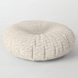 Blond Trellis Floor Pillow
