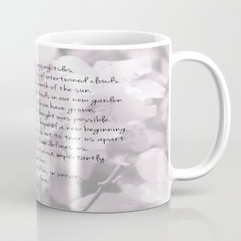 Through years and passing tides Coffee Mug