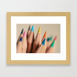 stand out from the crowd Framed Art Print