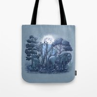 garden Tote Bags featuring Stone Garden by Terry Fan