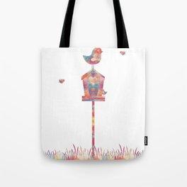 Tweety Birdhouse Tote Bag