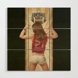 VINTAGE GIRLS - Footnall Wood Wall Art