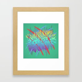 Skate Or Stereotypical Framed Art Print