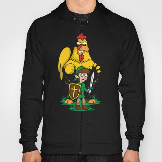 The Legend of Ernie (dark background) Hoody