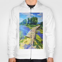 Wooden bridge Hoody