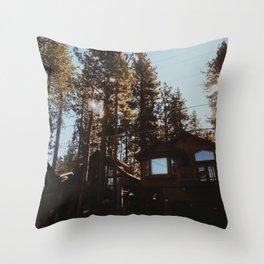 South Lake Tahoe City, CA Throw Pillow