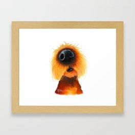 Dog PRiNT ANiMaL PRiNT 'SMeLLs LiKE SuNShiNe' by Shirley MacArthur Framed Art Print