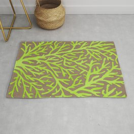 Neon Coral Rug