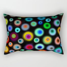 Endorphines dancing Rectangular Pillow