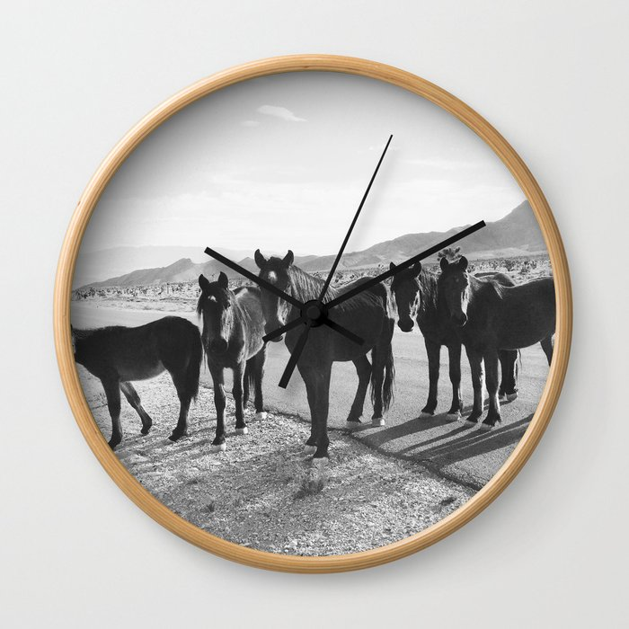 Cold Creek Horse Crew Wall Clock