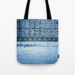 Warehouse Wall, Detroit. Tote Bag