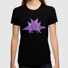 Origami Stegosaurus T-shirt