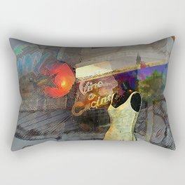 Vino Cucino Tomato Rectangular Pillow